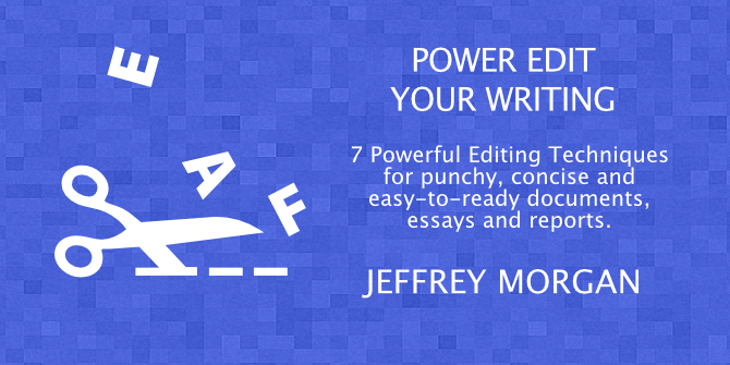 Power Edit Your Writing