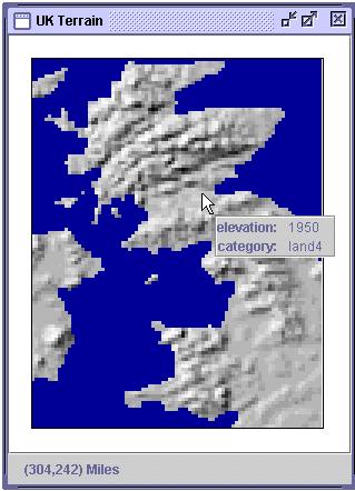 VDL Models Jeffrey Morgan - Terrain elevation data